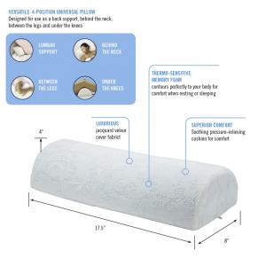 Memory Foam 4 Position Pillow